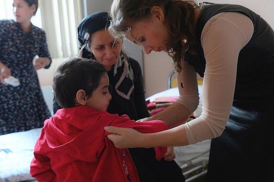 Аиша до сих пор остается в больнице. Фото: социальные сети Анны Кузнецовой