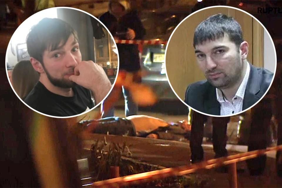 2 ноября, на западе Москвы неизвестный расстрелял подполковника полиции Ибрагима Эльджаркиева (справа) и его брата Ахмеда.