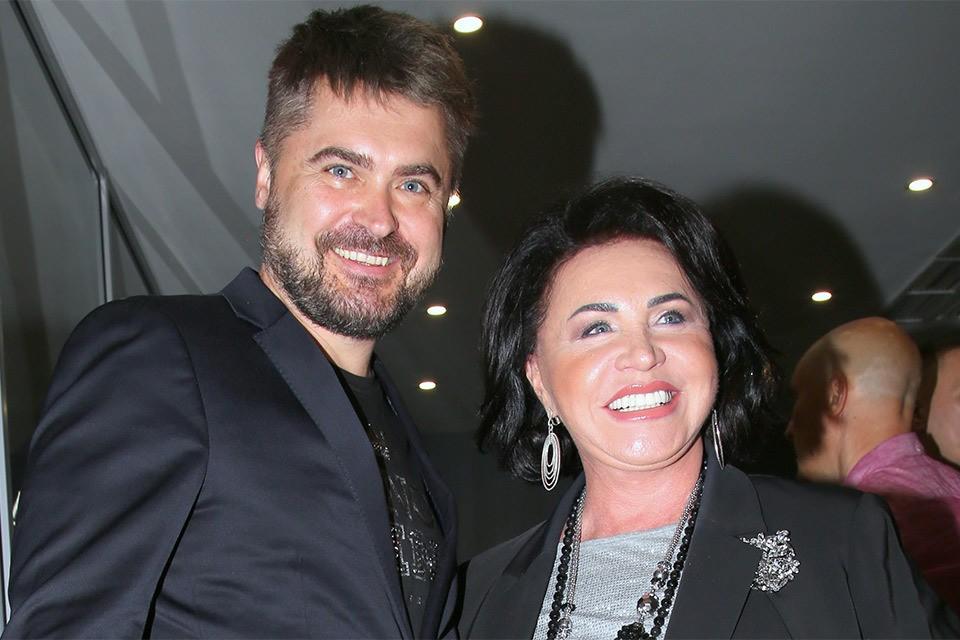 Евгений Гор и Надежда Бабкина.