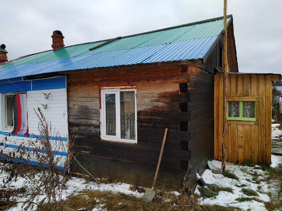 Дом, где и произошла трагедия