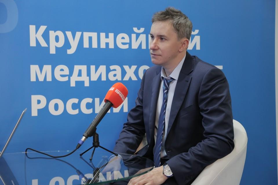 Денис Васильев, заместитель руководителя Федеральной службы по труду и занятости.