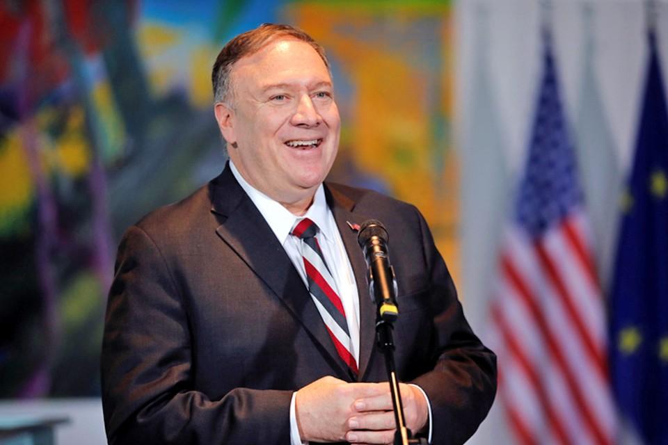 Госсекретарь США Майк Помпео заявил в Берлине, что Украина - не самостоятельное государство.