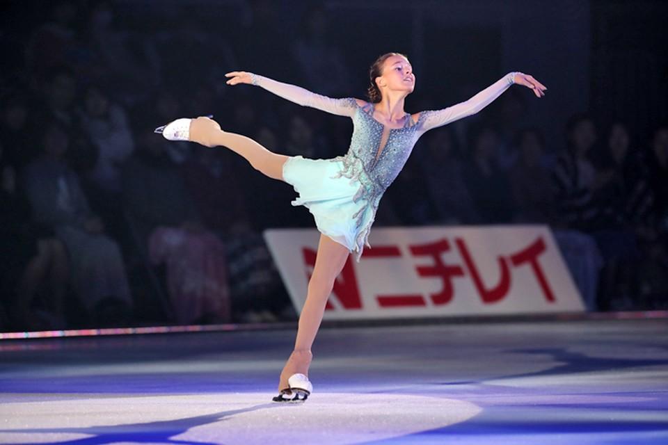15-летняя Ана Щербакова выиграла четвертый этап Гран-при по фигурному катанию в Китае