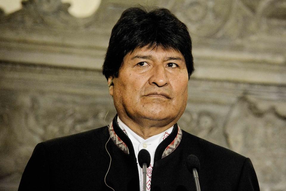 Экс-президент Боливии Эво Моралес.
