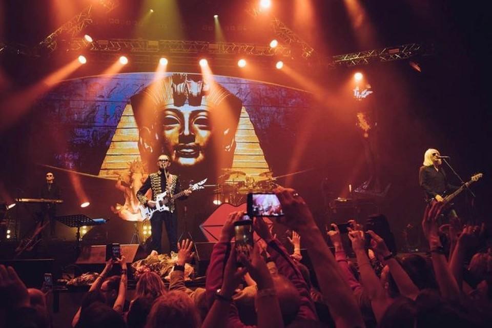 Группа «Пикник» представляет кемеровским зрителям концертную программу «В руках великана». Фото: Группа «Пикник»/Instagram