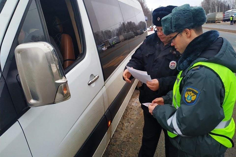 В Кировской области работали четыре нелегальных перевозчика. Фото: vk.com/gibdd43