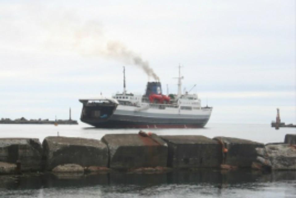 Паромную переправу «Ванино-Холмск» закрыли 18 ноября