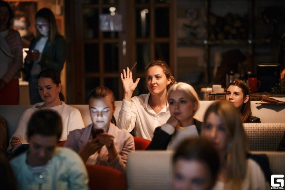 """За полтора года """"Рельсы"""" провели более 20 лекций. Фото: Геометрия, с сайта vk.com/therails"""