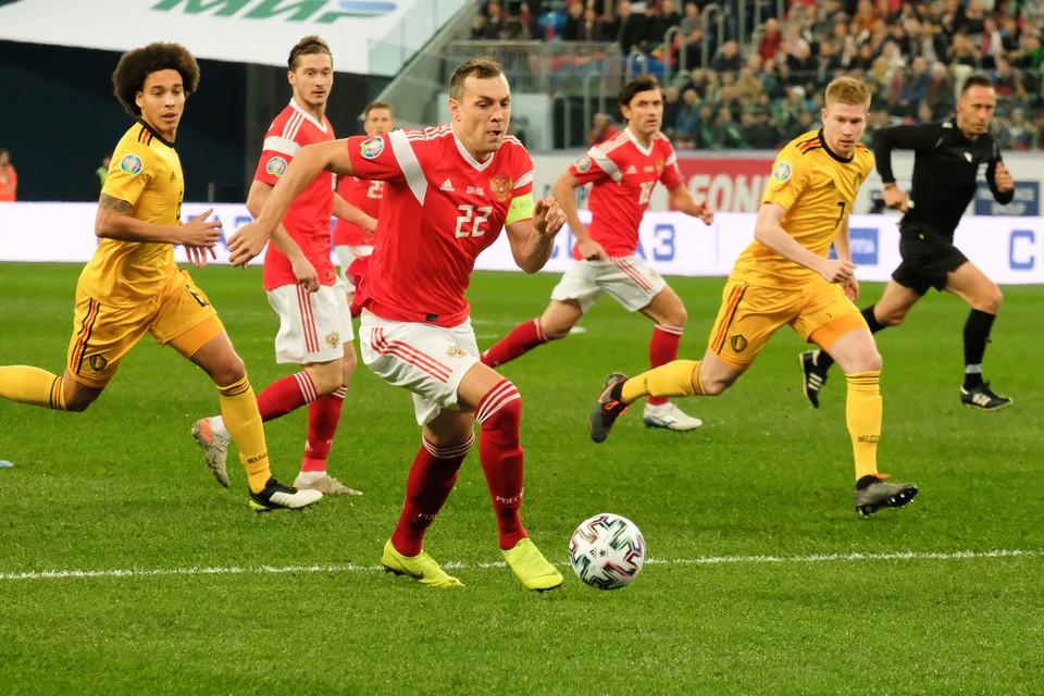 Россия вновь сыграет с Бельгией в Петербурге. Но уже в рамках финальной части ЕВРО-2020.