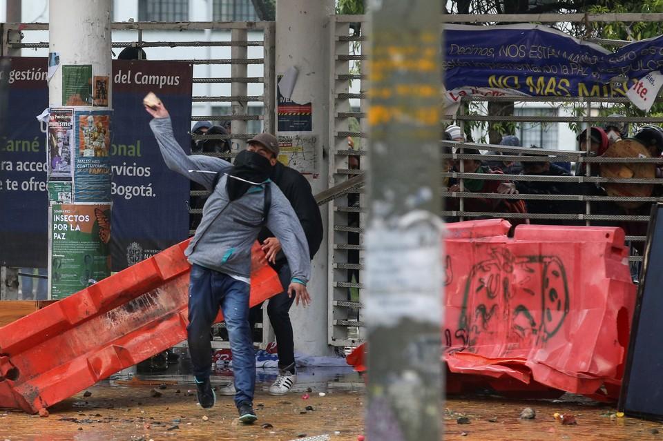 В Колумбии прошла крупнейшая общенациональная акция против действующего правительства Ивана Дуке.
