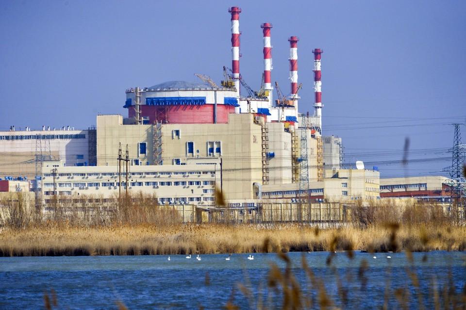 Ростовская АЭС расположена на а берегу Цимлянского водохранилища. Фото: rosenergoatom.ru/fotobank