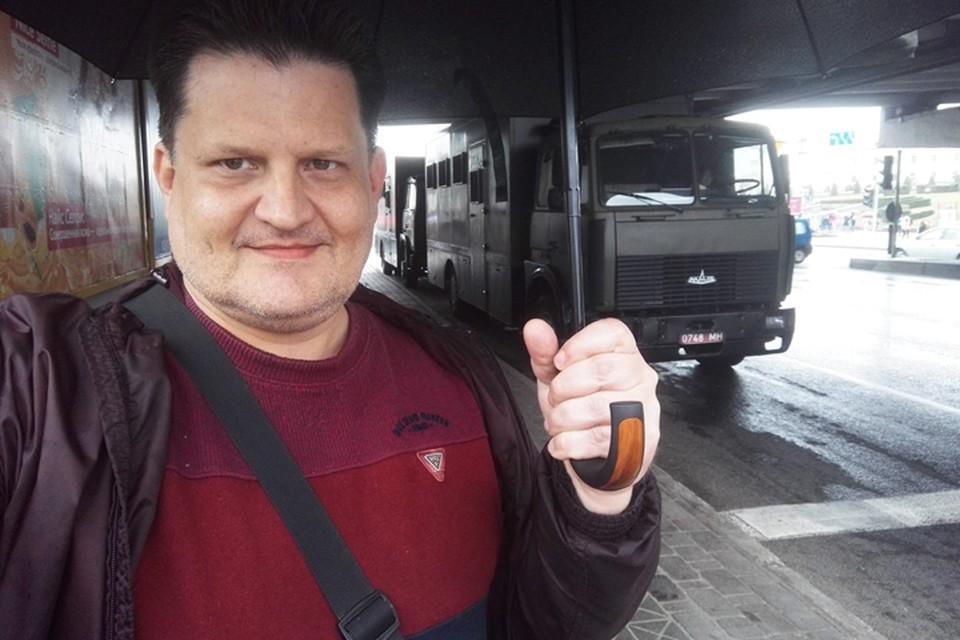 У скандального журналиста Чуденцова на границе нашли марихуану. Фото: facebook.com/chudentsov.