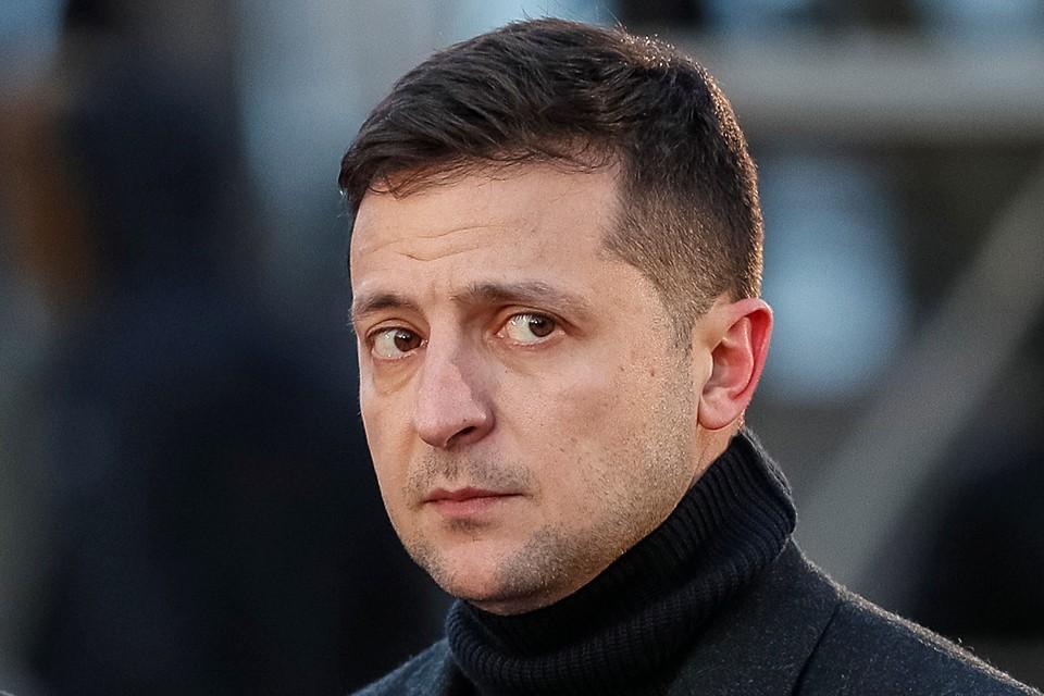 Владимир Зеленский, как стемнело позвонил в Кремль