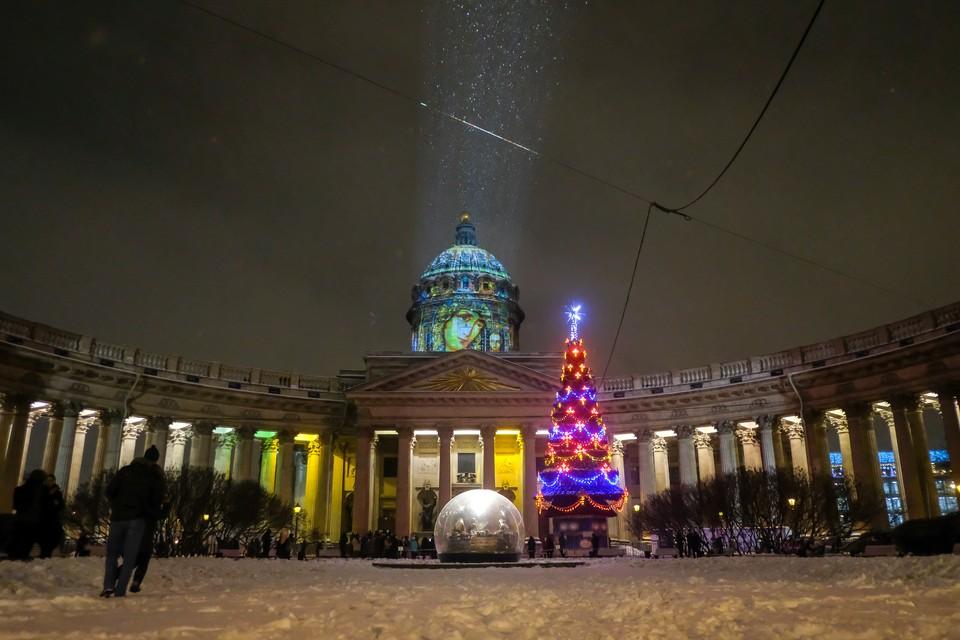 Когда в Петербурге включат новогоднюю иллюминацию.