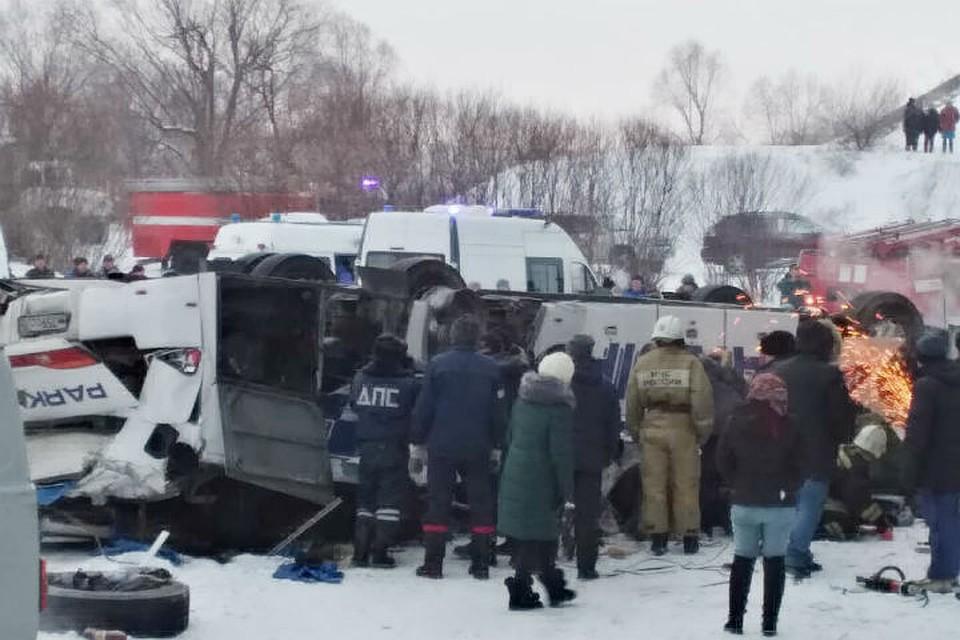 ДТП с автобусом под Читой: причины, подробности, сбор средств пострадавшим.