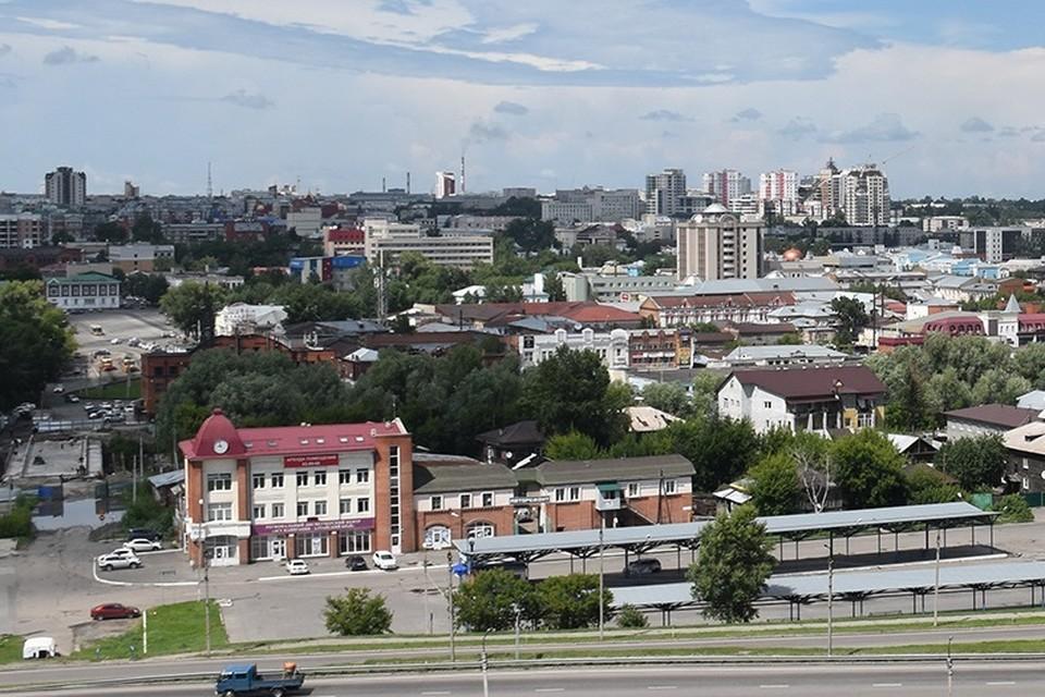 Вид на Барнаул. Фото: Минтранс Алтайского края