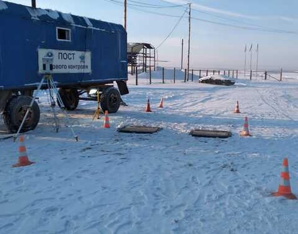 На сегодняшний день в республике эксплуатируется 20 ледовых переправ.