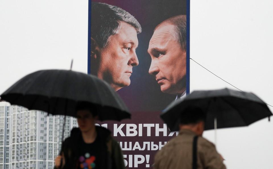 Порошенко отговаривает Зеленского от встречи с Путиным наедине