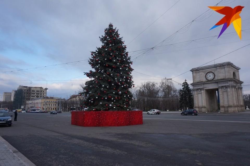 Большинство мероприятий в Кишиневе приурочено к зимним праздникам