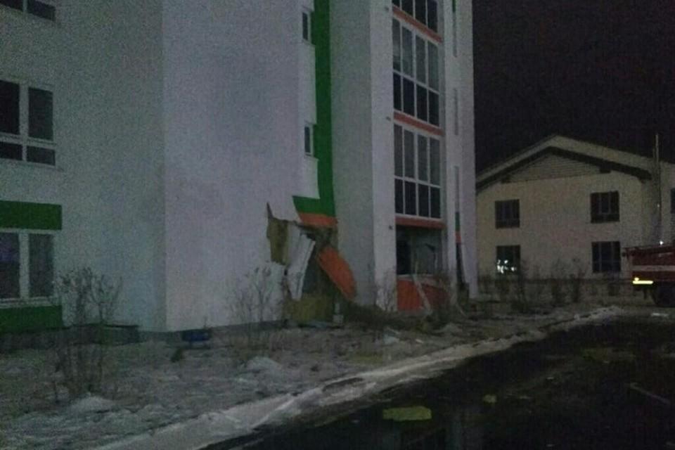Угрозы обрушения дома после взрыва на улицы Шарова в Тюмени для жильцов нет. Фото с сайта МЧС России по Тюменской области
