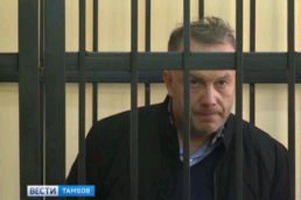 Вице-губернатор Тамбовской области Глеб Чулков в суде.