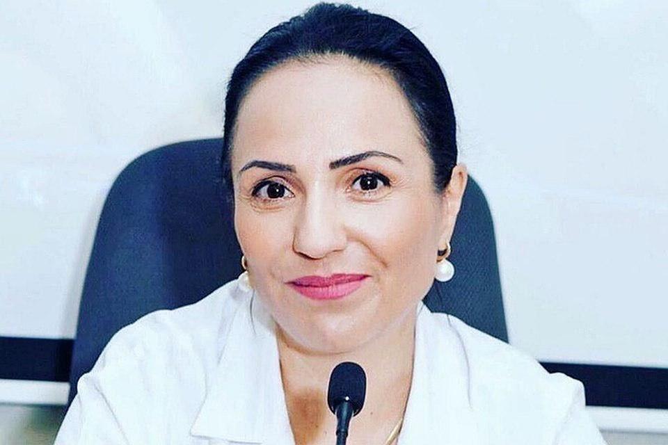 Накануне с поста главного врача по собственному желанию уволилась Марина Сармосян