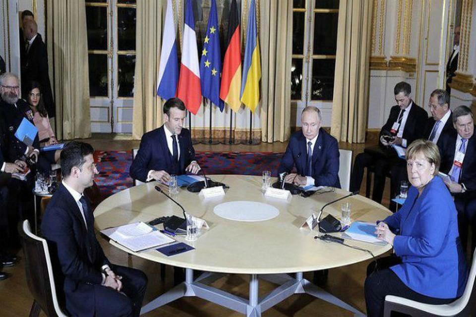 Лидеры четырех стран впервые встретились за три года. ФОТО: kremlin.ru