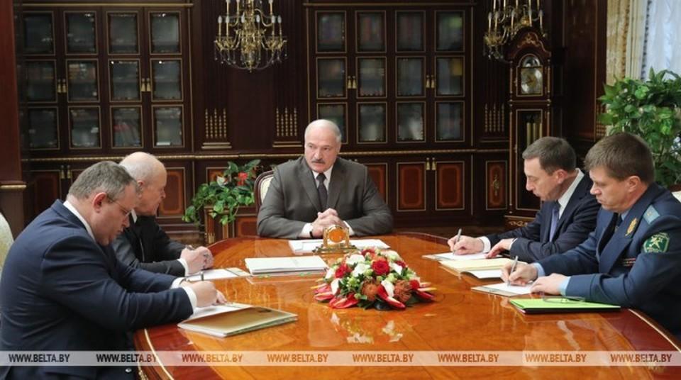 Такие требования президент озвучил на совещании 10 декабря. Фото: belta.by