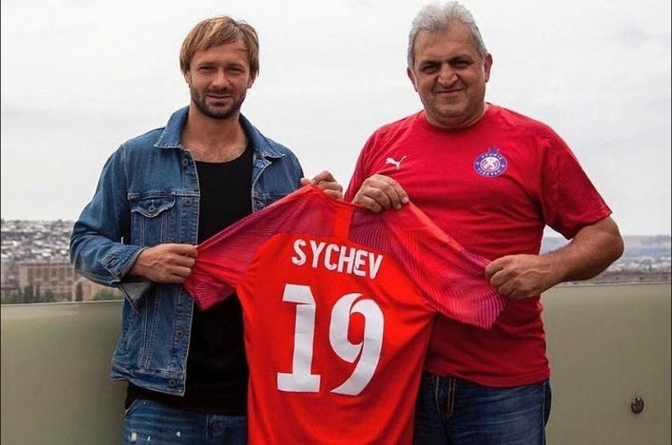 Футболист в начале года подписал контракт с армянским клубом