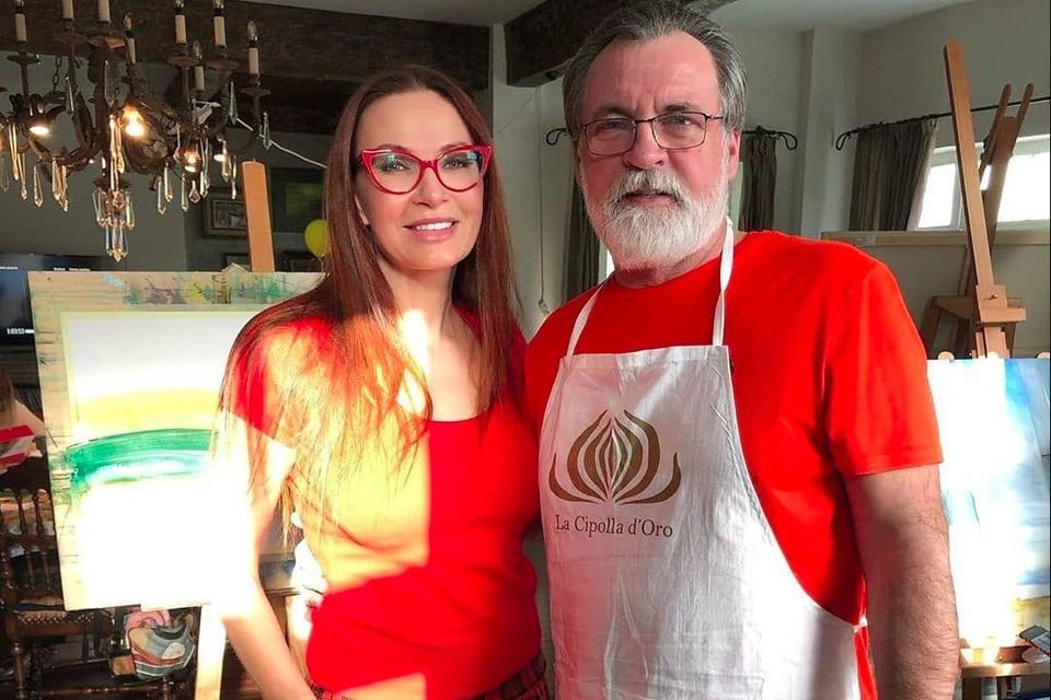 Эвелина Блёданс и победитель 6-го сезона «Битвы экстрасенсов» Александр Литвин. Фото: instagram.com/dr.litvin