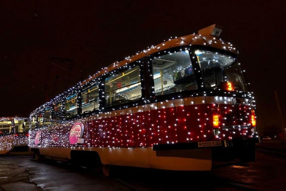 Праздничные вагончики особенно нравятся самым маленьким нижегородцам. Фото из соцсетей.