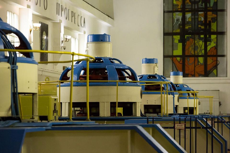 Машинный зал Нива ГЭС-3 находится на глубине 75 метров. Фото: Музей истории энергетики