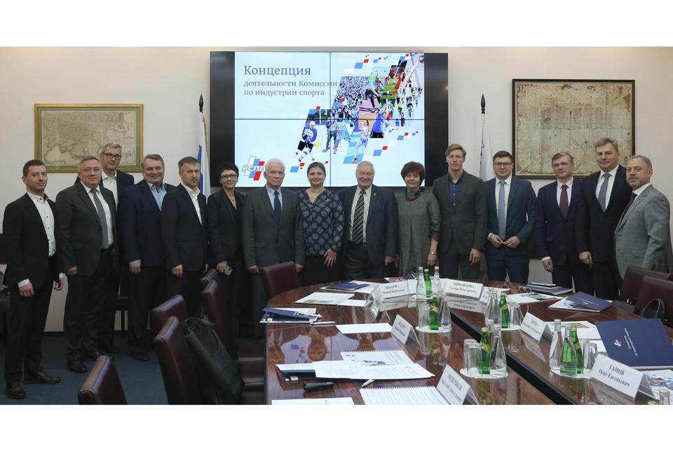 В состав комиссии входят представители бизнеса, спортивных обществ, федеральных ведомств. Автор фото: ПАВЕЛ КУЛАКОВ