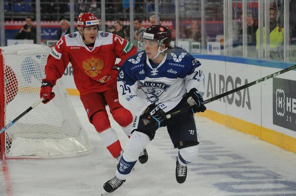 Россия - Финляндия 15 декабря 2019: обзор матча, итоговый счет, голы.
