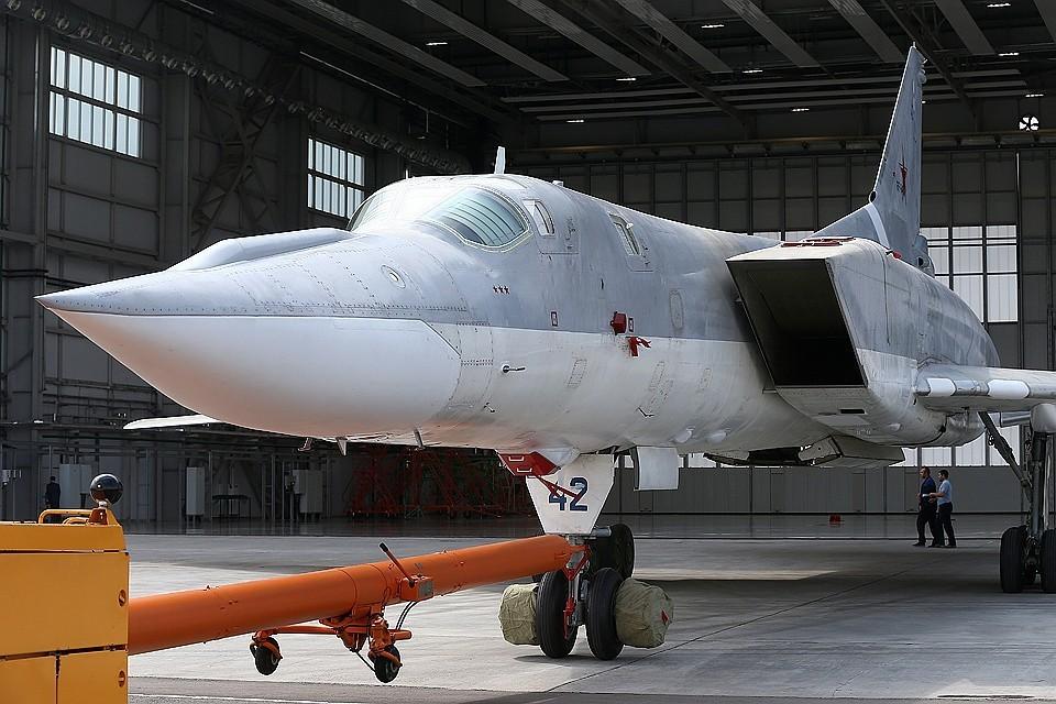 Бомбардировщик успешно приземлился в Архангельской области. ФОТО Егор Алеев ТАСС