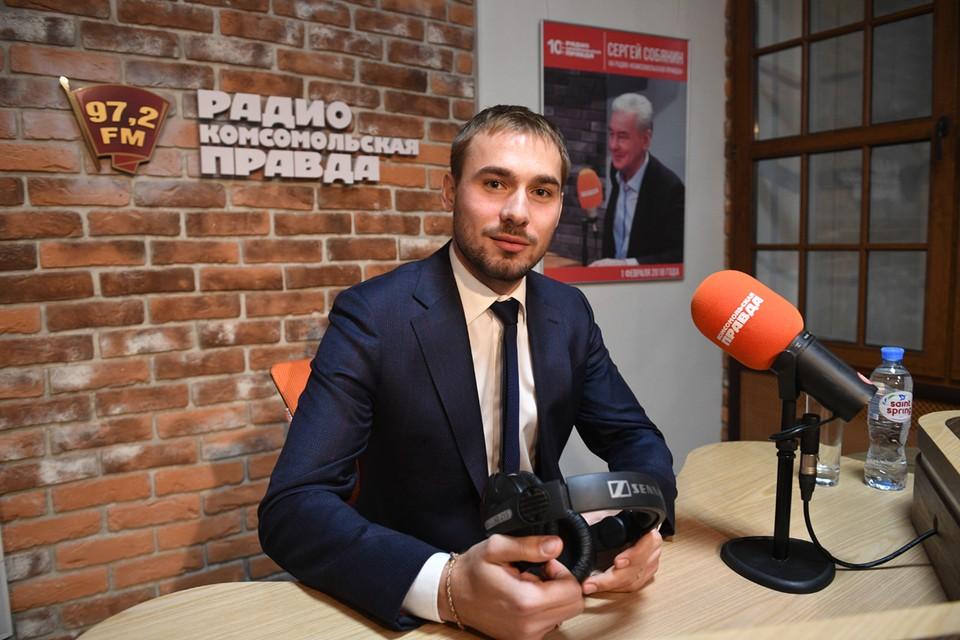 Биатлонист и депутат Госдумы Антон Шипулин.