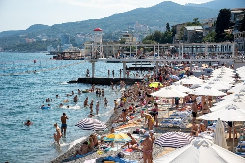 В этом году Крым посетили рекордные 7,2 миллиона туристов