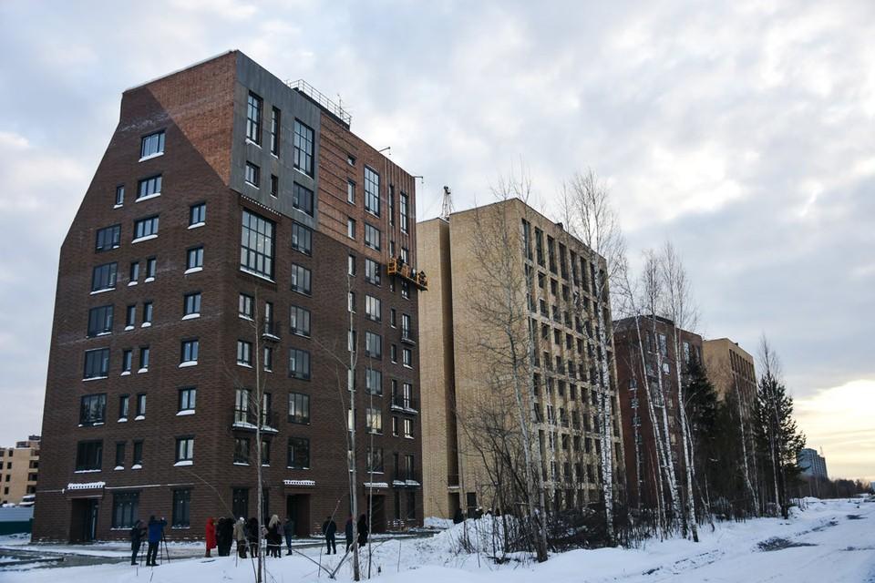 Образ квартала навеян впечатлениями от русского Севера.