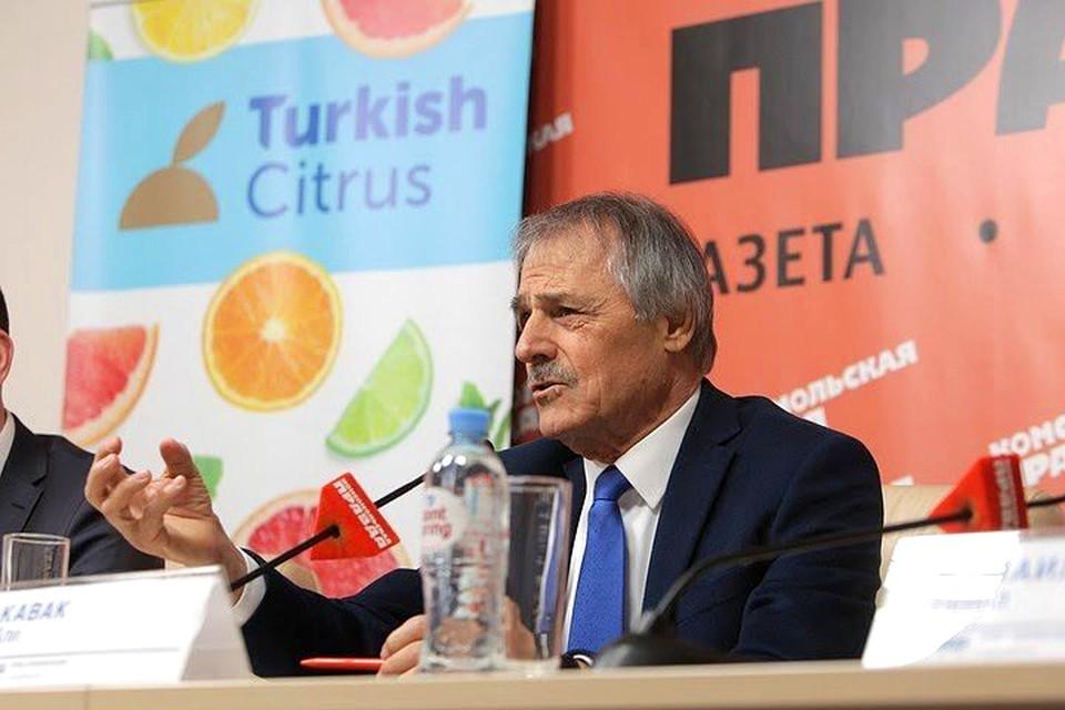 Председатель Отраслевого совета Средиземноморского союза экспортеров фруктов и овощей (AKİB) Али Кавак.