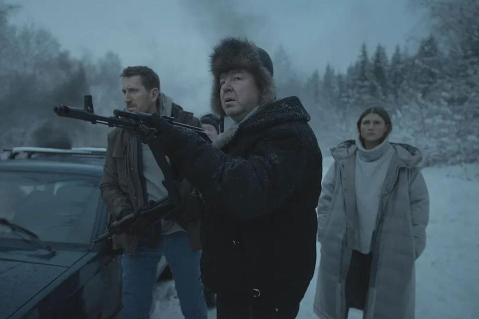 В фильме много стреляют, И кажется, что до финала никто не доживет. Фото: Кадр из фильма