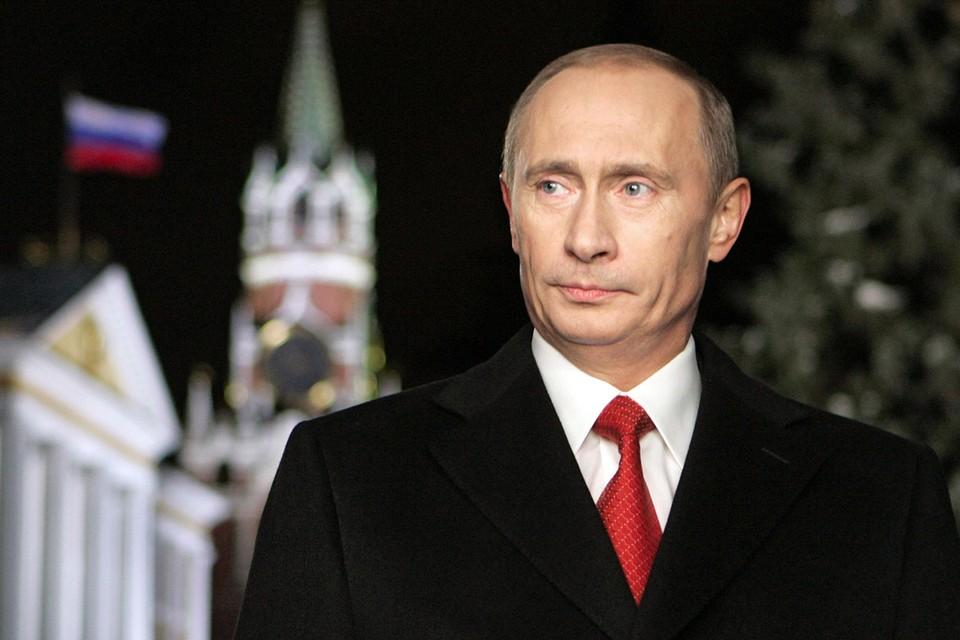 Президент России Владимир Путин во время новогоднего обращения к российскому народу. Фото ИТАР-ТАСС/ Дмитрий Астахов