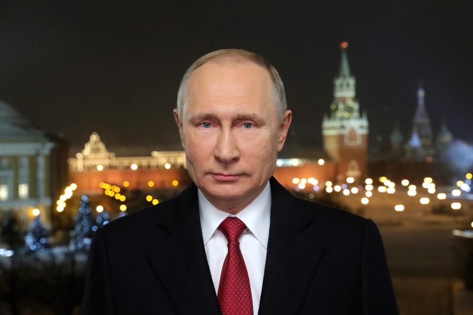 В Новый год 2020 Владимир Путин обратится к россиянам с традиционным поздравлением