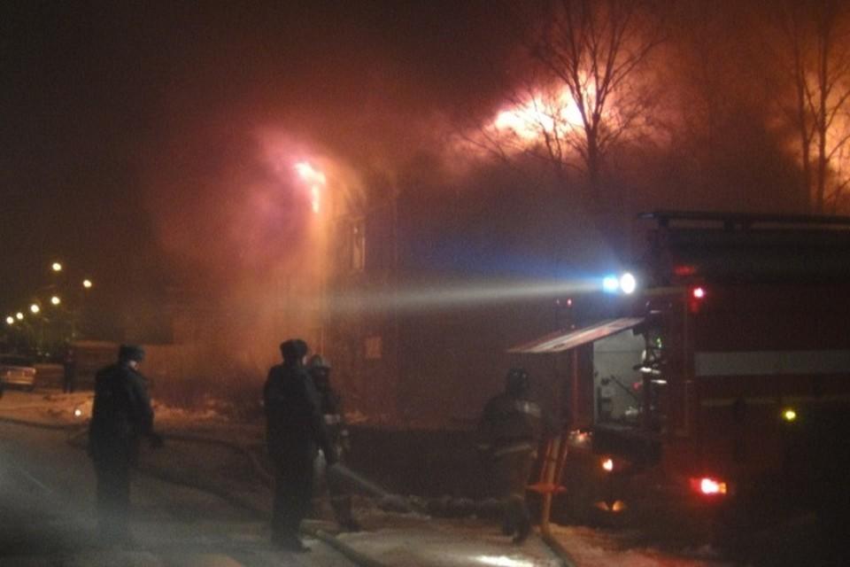 В минувшие сутки в Югре сгорели 4 бани. Фото с сайта МЧС по ХМАО-Югре
