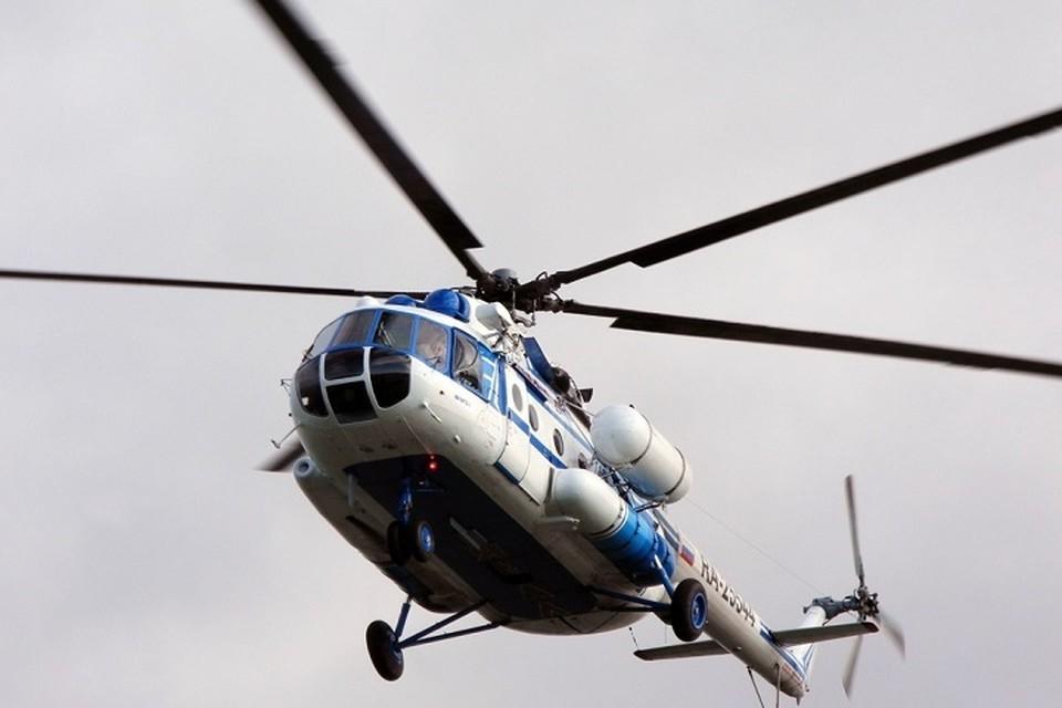 """На Ямале на 30 процентов подешевеют билеты на вертолет. Фото из группы """"Дороги и транспорт ЯНАО"""" во """"ВКонтакте"""""""