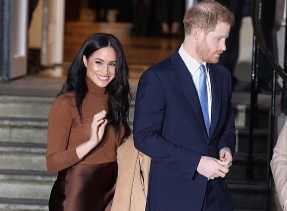 Гарри и Меган решили покинуть королевство и уехать в Северную Америку