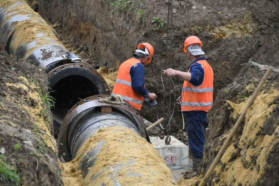 Водовод в Туле под Новомоедвенским отремонтируют в нынешнем году