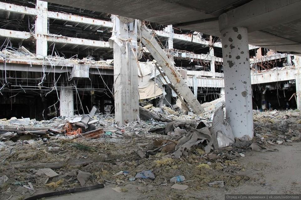 В основе фильма «Позывной «Донецк» - бои за Донецкий аэропорт. Фото: ВКонтакте