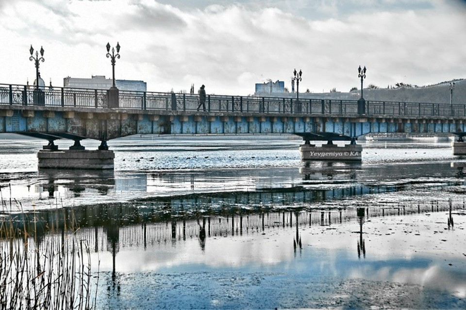 Январь в Донецке. Фото: Евгения Карпачева
