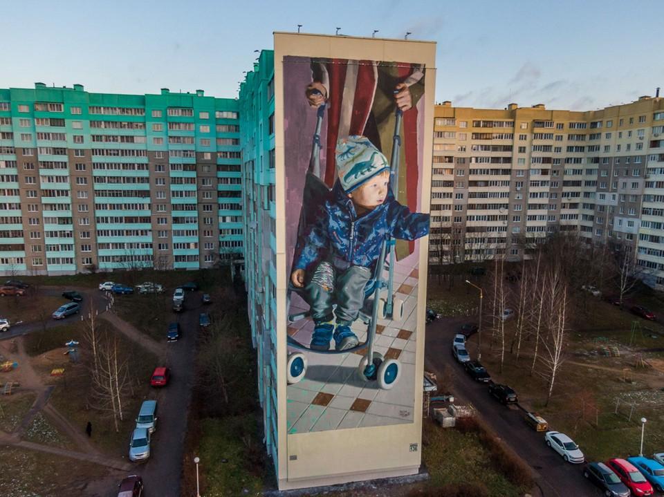 Уже два минских граффити получили признание международного стрит-арт сообщества