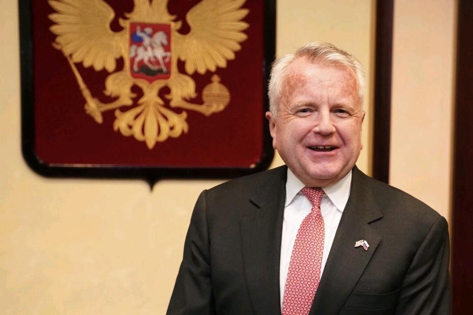 Новый посол США в России Джон Салливан. Фото: пресс-служба посольства